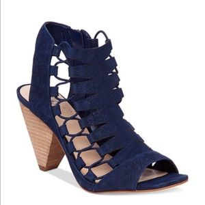 Vince Camuto cages peep toe sandals
